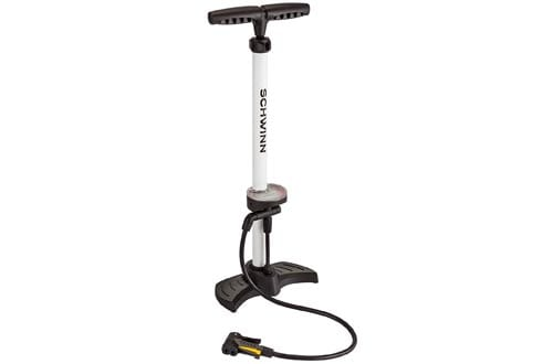 Schwinn 5 in 1 Floor Pump With Gauge