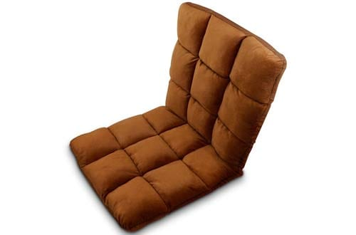 Jhua Home Adjustable Folding Lazy Sofa Six-Position Relax Chair Floor Cushion