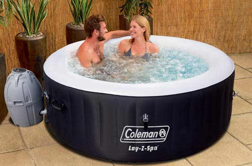 Coleman Lay-Z Spa Black Inflatable Hot Tub