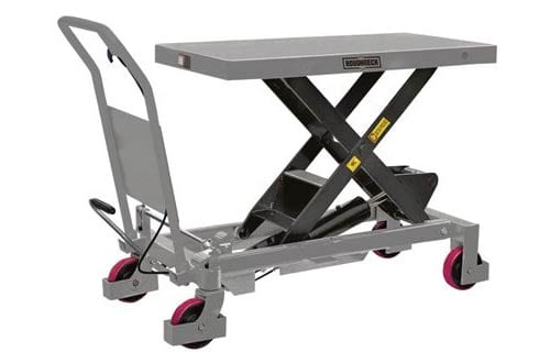 Roughneck Hydraulic Lift Table Cart