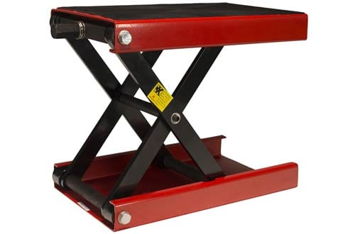 1100 LB Wide Deck Motorcycle Center Scissor Lift Jack