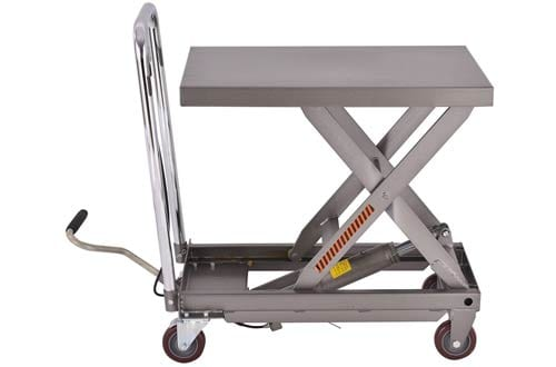 Goplus Hydraulic Scissor Lift Table Cart