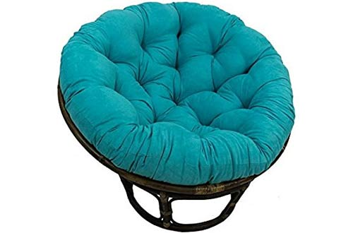 International Caravan 3312-MS-AB-IC Furniture Piece Rattan 42-inch Papasan Chair