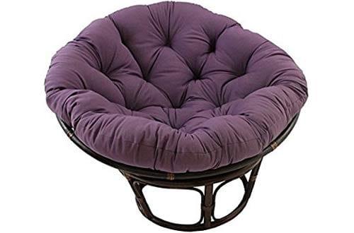 International Caravan 3312-TW-GP-IC Furniture Piece 42-inch Rattan Papasan Chair