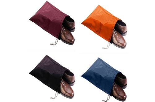 FashionBoutique high quality waterproof Nylon shoe bags