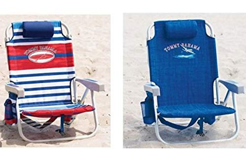 Double Tommy Bahama Backpack Cooler Chair with Storage Pouch