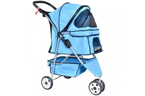 BestPet Pet Stroller Cat Dog