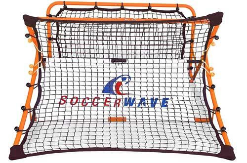 SoccerWave Jr. 2 in 1 Soccer Rebounder and Trainer