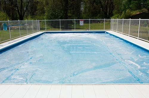 Sun2Solar Crystal Clear 20-Foot-by-40-Foot Rectangle Swimming Pool Solar Heating Cover Blanket