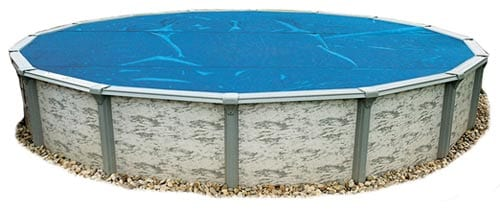 Blue Wave 18-Feet Round 8-mil Solar Blanket for Above Ground Pools
