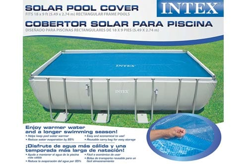 Intex Solar Cover for 18ft X 9ft Rectangular Frame Pools