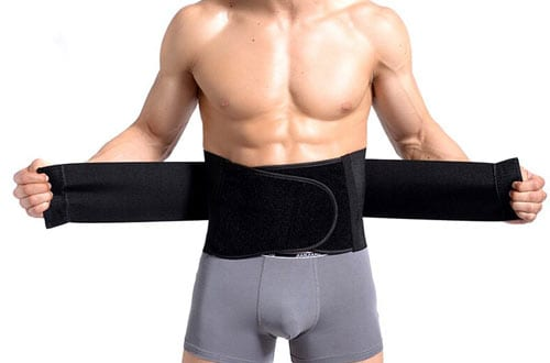 Waist Trimmer Ab Belt, Pro Waist Trainer for Men & Women