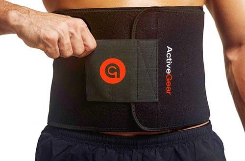 ActiveGear Premium Waist Trimmer Belt Slim Body