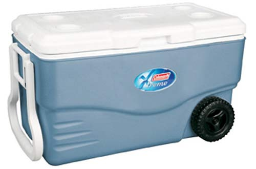 Coleman 100-Quart Xtreme Heavy-Duty Camping Coolers with Wheels
