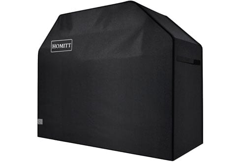 Homitt Heavy Duty Waterproof BBQ Gas Grill Cover with PVC Facing