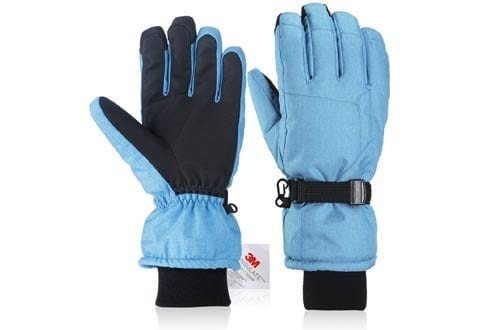 Winter gloves, Fazitrip Men's and Women's Ski Gloves