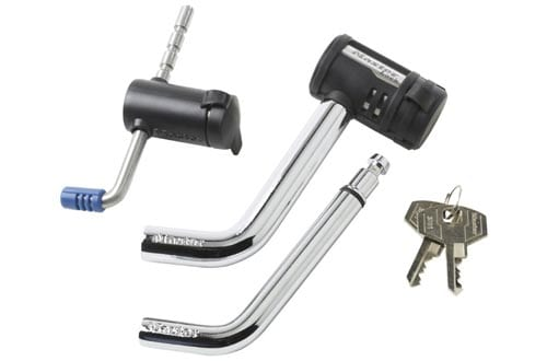 Master Lock 2848DAT Key Alike Set with Receiver and Coupler Latch Locks, 2-Piece Set