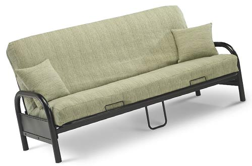 Fashion Bed Group Saturn Adjustable Metal Industrial Futon Frame
