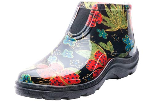 Sloggers Women's Waterproof Rain and Garden Ankle Boots