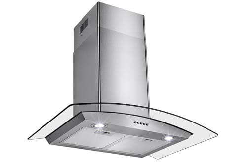 "Perfetto Kitchen and Bath 30"" Convertible Wall Mount Range Hood"
