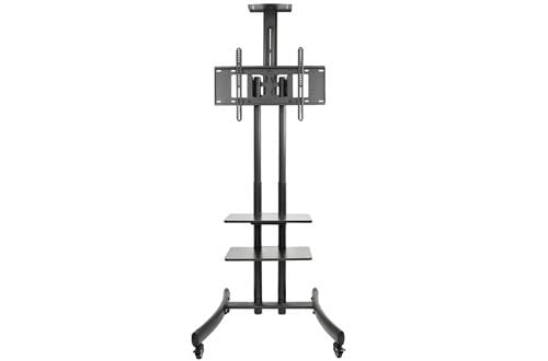 VIVO TV Cart for LCD LED Plasma Flat Panel Stand Mount