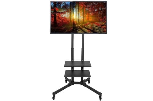 VIVO TV Cart for LCD LED Plasma Flat Panels Stand