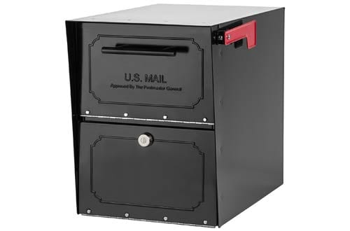 Architectural Oasis Classic Locking Post Mount Parcel Mailboxes