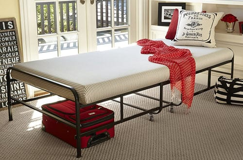 Zinus Memory Foam Getaway Premier Folding Guest Bed