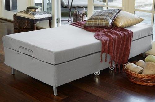 Zinus Memory Foam Resort Folding Double Guest Bed
