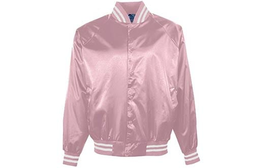 Augusta Sportswear Men's Satin Baseball Jacket