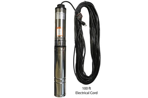 Underground Submersible Well Pumps