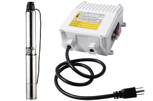 submersible well pump control box