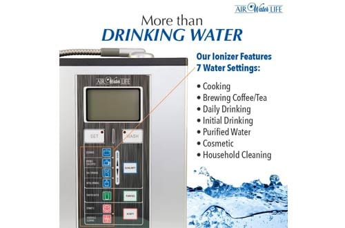 Air Water Life Aqua Ionizer Deluxe 9.0 | Best Home Alkaline Water Filtration System