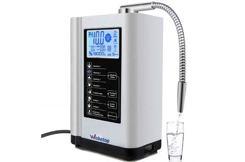 Webetop Water Ionizer and Water Purifier Machine