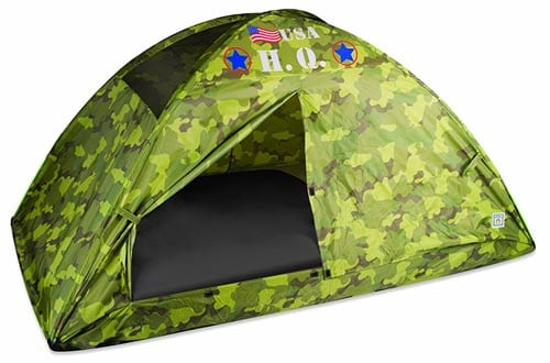 Pacific Play Tents HQ Twin Bed Tent