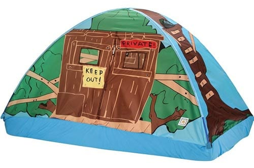 Pacific Play Tents Twin-Size Bed Tent Playhouse