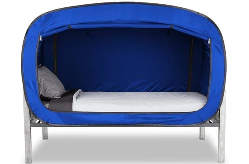 Privacy Blue Twin Pop Bed Tents