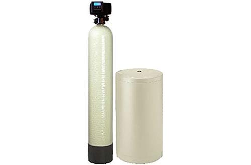 Digital whole house water softener