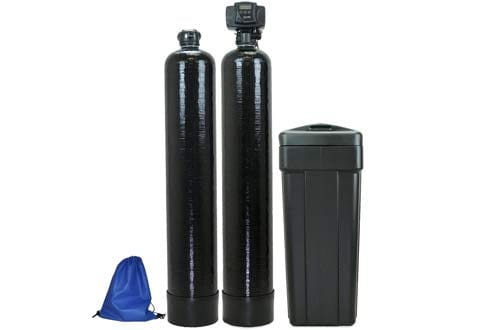 ABCwaters built Fleck 5600sxt 48,000 Water Softener with Upflow Carbon Filtration