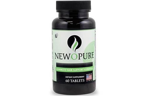 Newopure Natural Repair Hair Growth Vitamins Stops Hair Loss