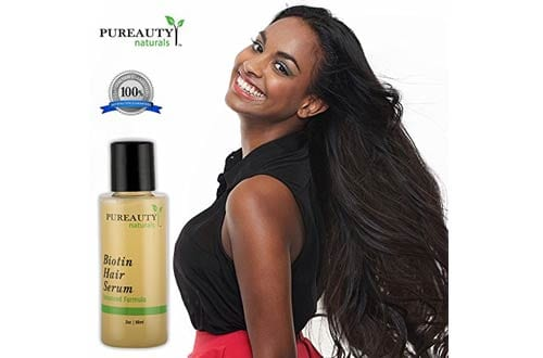 Biotin Hair Growth Treatment Serum by Pureauty Naturals