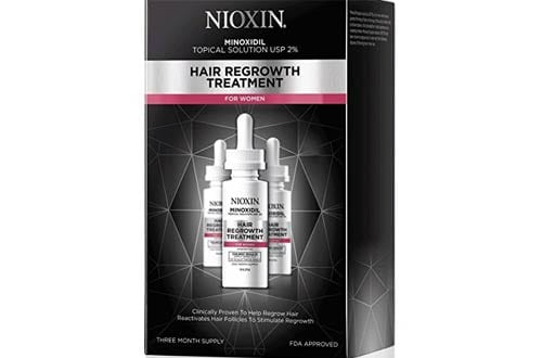 Nioxin Minoxidil Hair Regrowth Treatment for Women