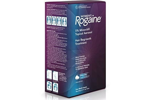 Women's Rogaine Treatment for Hair Loss and Hair Thinning