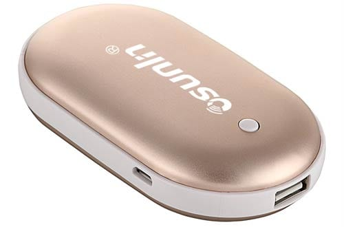 Osunlin 5200mAh Portable Pebbles Double-Side Rechargeable Hand Warmer