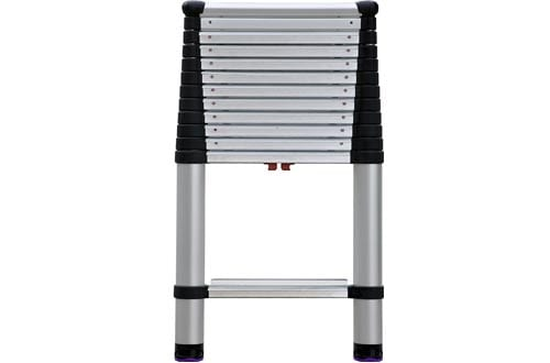 Professional Wide Step Telescoping Extension Ladder