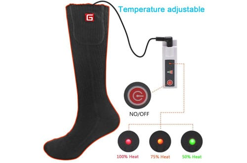 Unisex Rechargeable Battery Electric Heated Socks Kit