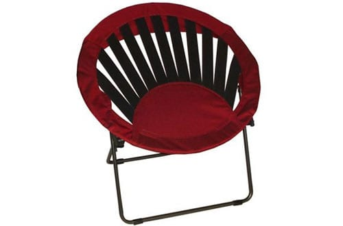 Bright Red Sunrise Chair