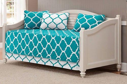 Modern Elegant Reversible Bedspread DayBed Cover Set