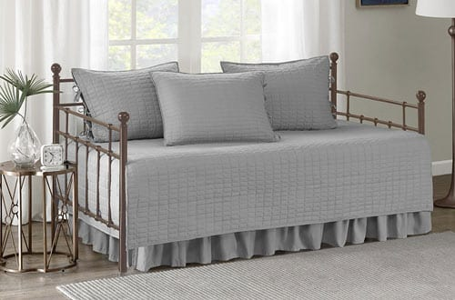 Comfort Spaces Stitched Quilt Pattern Kienna Daybed Set
