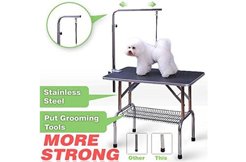 Profession Dog Show Fold Grooming Table